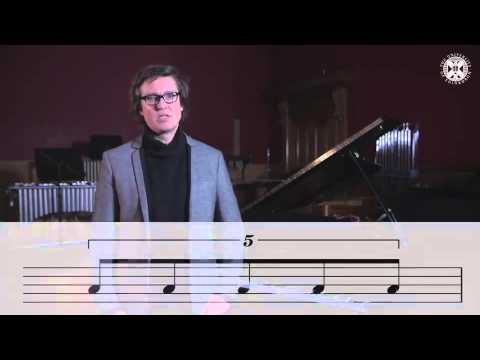 Lecture 3.2 - Tuplets (Coursera - Fundamentals of Music Theory 17)