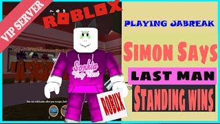 Roblox Live Stream - Jailbreak (simon says - Hide & Seek) Plus more games!
