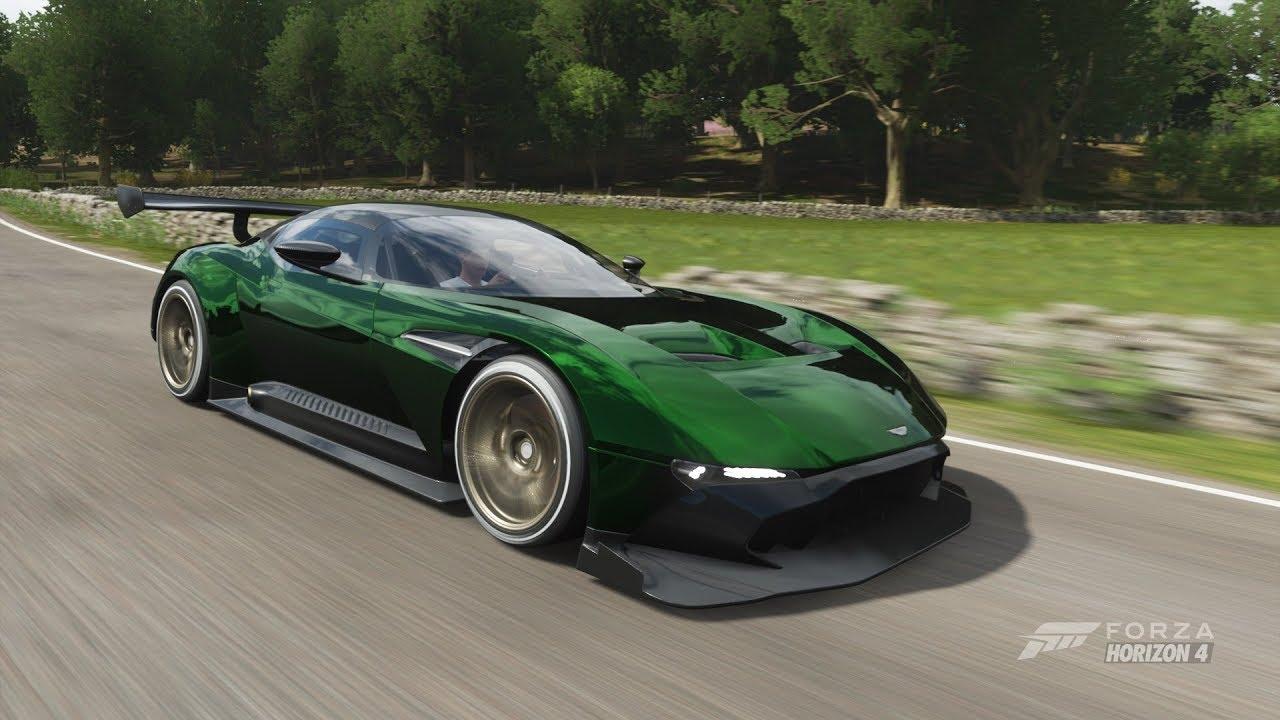 Forza Horizon 4 Aston Martin Vulcan Forza Horizon Edition Gameplay 60 Fps 1080p Youtube