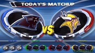 NFL Blitz 2002 - Minnesota Vikings vs Carolina Panthers - 1st Qrt - PlayStation 2 - HD