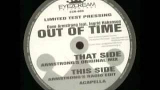 Dave armstrong - Out of touch - out of time