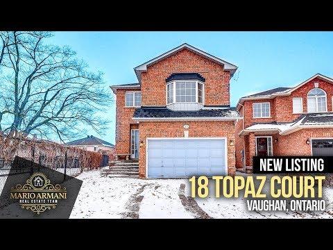 SOLD! 18 Topaz Court In Vaughan! (Ontario, Canada)