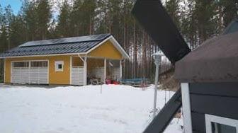 Aurinkosähkö kokemuksia Laukaan Energia