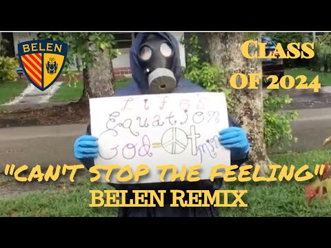 """Belen Middle School """"Can't Stop The Feeling"""" (Class of 2024 Remix)"""