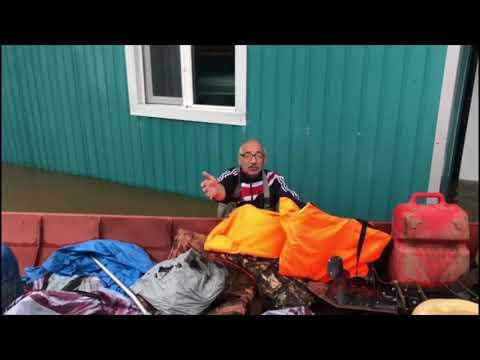 Наводнение в Амурской области.  Норск затопило.