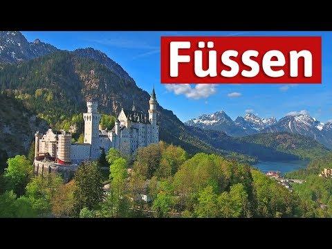 Urlaub in Füssen - Alpen, Seen und Schlösser