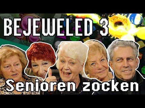 BEJEWELED 3 - Senioren zocken!!! (Deutschlands älteste Gamer)