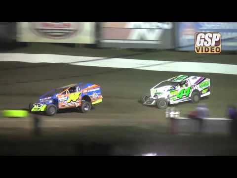 Order the complete race night DVD at http://gspshop.com - 358 modified feature highlights from 4/21/2018 at Grandview Speedway. - dirt track racing video image