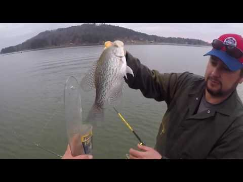 CRAPPIE FISHING At Weiss Lake - Long Line Trolling For Slab Crappie