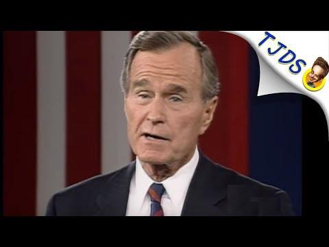 Twitter POUNCES On George H.W. Bush