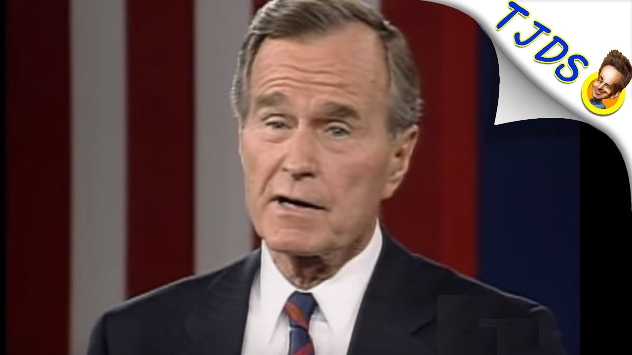 Twitter POUNCES On George H.W. Bush's War Crimes After Death