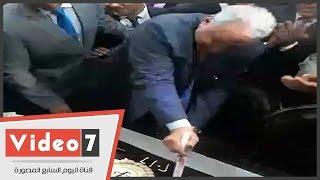 بالفيديو..سامح عاشور يفتتح مقر النقابة الفرعية للمحامين بحلوان