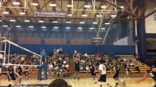 BYU at USCB Volleyball (4-7-17)
