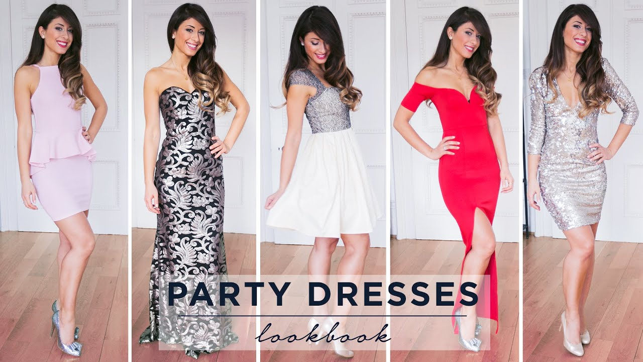 holiday party dresses lookbook mimi ikonn youtube