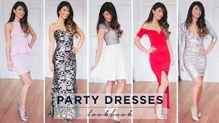 Holiday Party Dresses Lookbook | Mimi Ikonn Thumbnail