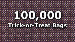 100,000 TRICK-OR-TREAT BAGS!! Opening Video Full Details Halloween 2017  |  Guild Wars 2