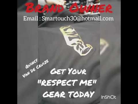 "Ñew Clothing Line ""RESPECT ME"" created by Quincy Van De Cruize"