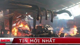 ⚡ NÓNG | Cháy xưởng sản xuất gỗ, hai công nhân tử vong
