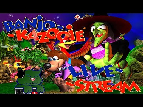 CAN YOU BEE-LIEVE THIS IS THE FINALE? | Banjo Kazooie (Blind Playthrough) Livestream
