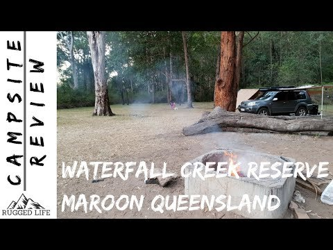 WATERFALL CREEK RESERVE CAMPSITE - Campsite Review