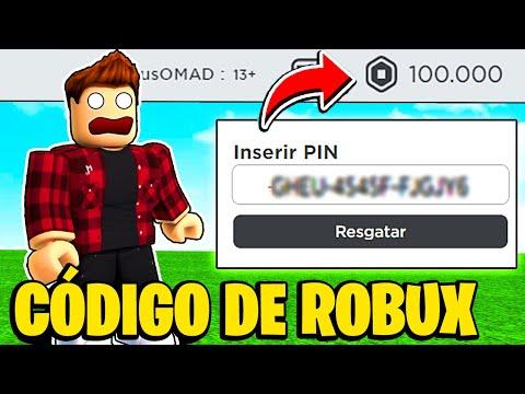 USE ESSE CÓDIGO DE ROBUX GRÁTIS E FIQUE MUITO RICO NO ROBLOX!