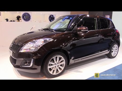 2015 Suzuki Swift - Exterior and Interior Walkaround - 2014 Paris Auto show