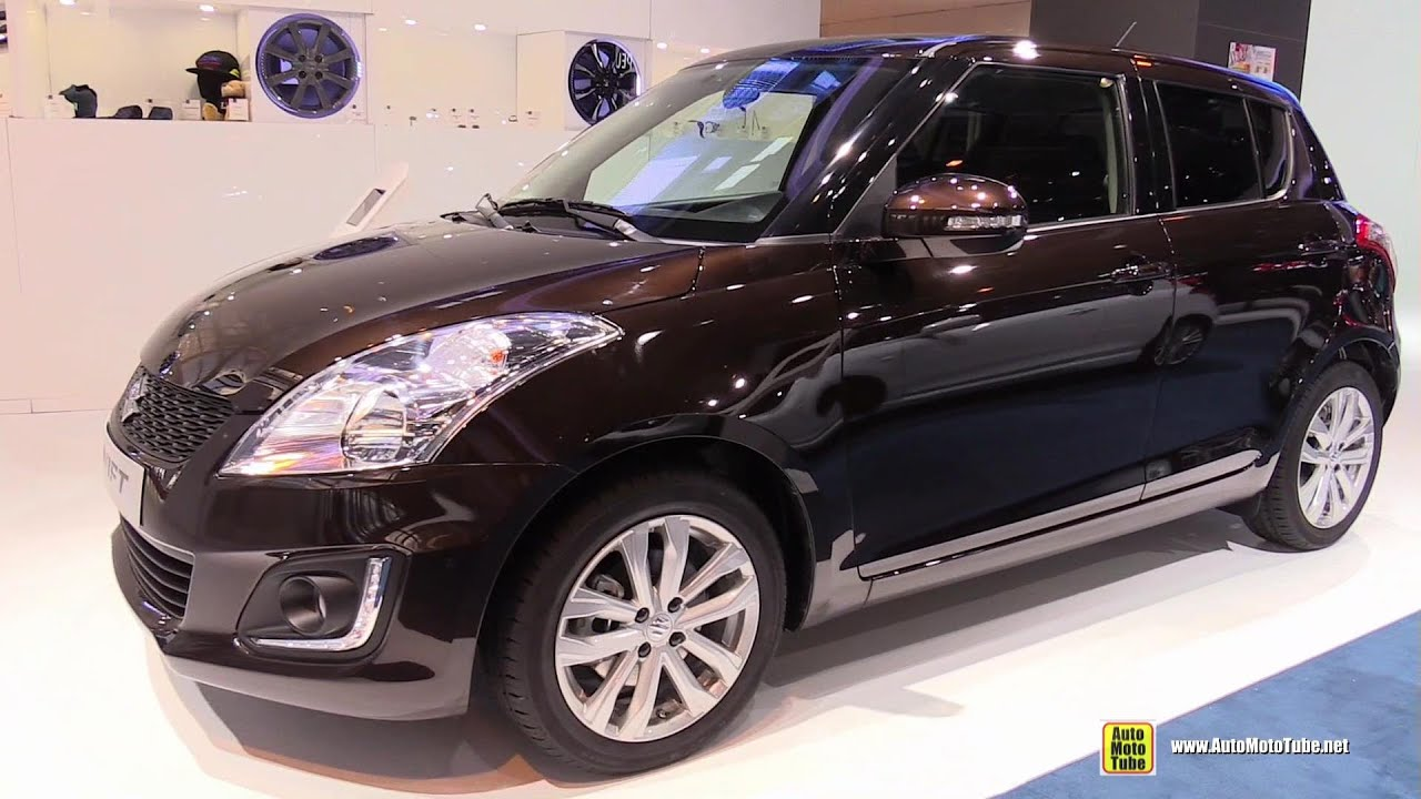 2015 suzuki swift exterior and interior walkaround 2014 paris auto show youtube. Black Bedroom Furniture Sets. Home Design Ideas