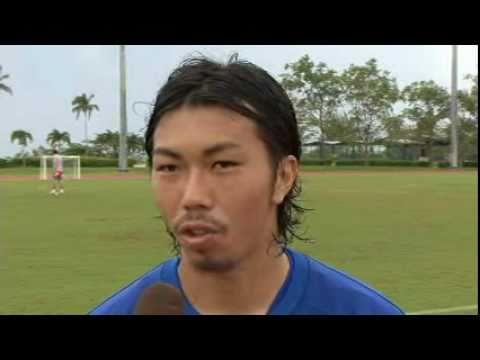 船山祐二選手 2011年キャンプ