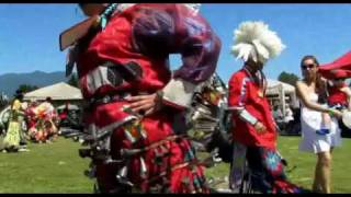 Squamish Nation Pow Wow 2010 Grand Entry Native Indian Dance