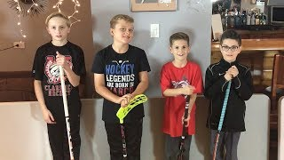 FloorBall Hockey  Shoot Out Conor McDavid Sidney Crosby Jack Eichel Alex Ovechkin Tournament