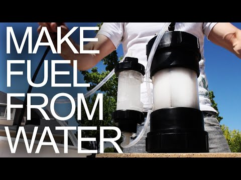 HHO Generator - Water to Fuel Converter (aka Explosive Gas by Electrolysis)