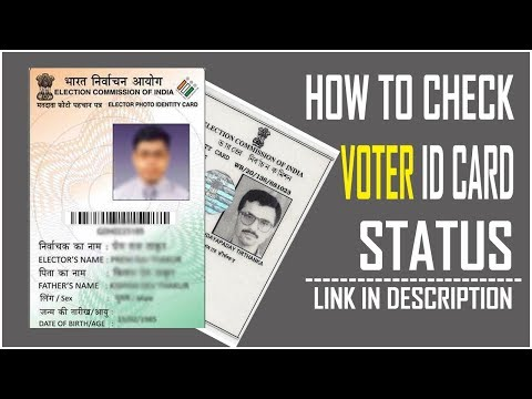 How To Check Voter Id Card Status Online