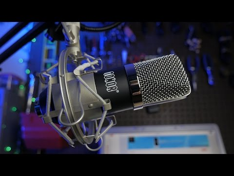 FULL AUDIO KIT FOR $32?! HOLY CRAP - Tonor BM 700 Microphone Kit Review