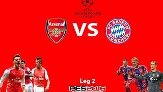Arsenal: Berjuang Atau Mati!!! -PES 2016 (prediksi)