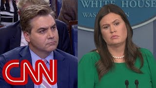 Acosta to Sanders: Which outlets are 'the enemy of the people'?