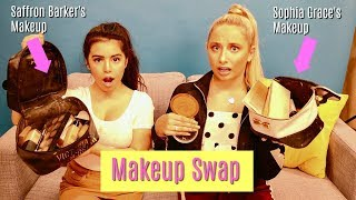 Makeup Bag Swap with Saffron Barker  Sophia Grace