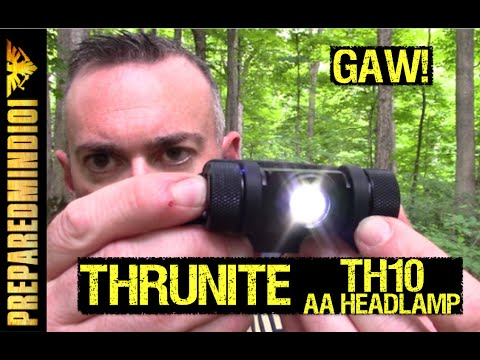 Thrunite TH20 AA Headlamp (GAW) - Preparedmind101