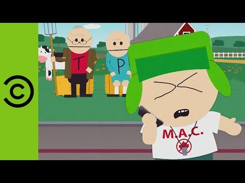 Kyle Embraces His Inner Millennial  South Park