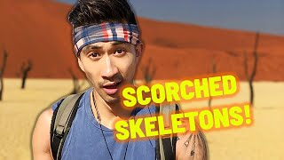 Eerie Skeleton Trees of Deadvlei, Africa | African Porridge | Sleeping Under the Stars