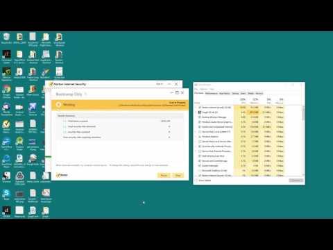 Norton Antivirus - Full Scan is stuck or frozen - Windows 10