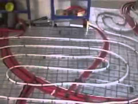 видео: Укладка теплого водяного пола своими руками видео