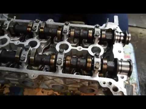 Кап. ремонт двигателя 1NZ-FE ( первая часть ) ремонт ГБЦ