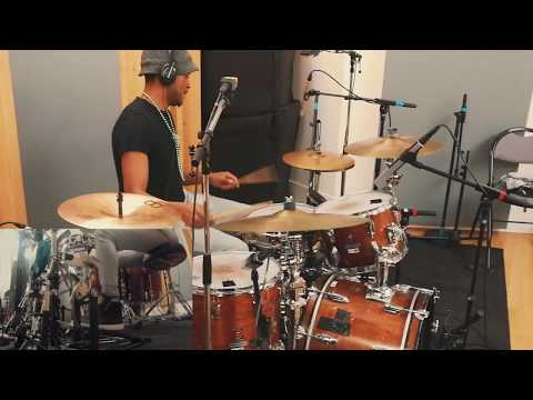 RECORDING DRUMS SESSION at the National Conservatory of Music and Dance of Paris ( May 2017)