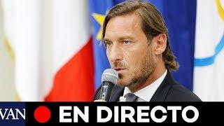 [⚽ EN DIRECTO] Francesco Totti deja la Roma