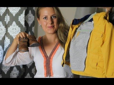 БАЗОВЫЙ ГАРДЕРОБ ДЛЯ РЕБЕНКА \ Одежда для мальчика на осень зиму 2 года