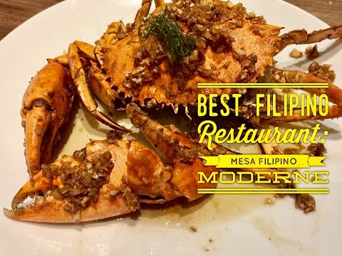 2017 Best Filipino Restaurant Mesa Filipino Moderne: Anthony Bourdain Would Be So Jealous!