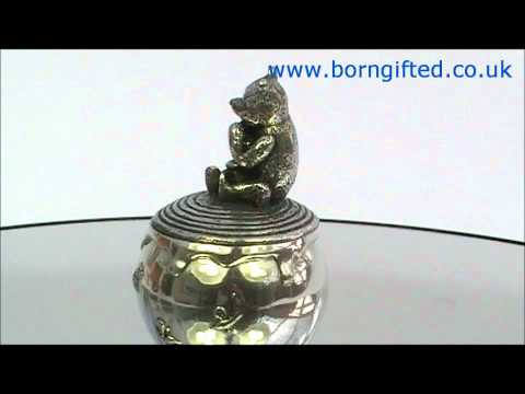 Winnie the Pooh Tooth Pot 'Think, Think, Think' by Royal Selangor