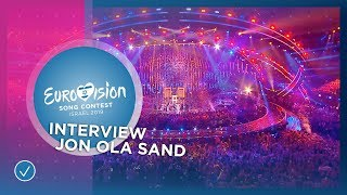 Interview with Jon Ola Sand - All about Tel Aviv and the shows - Eurovision 2019 thumbnail