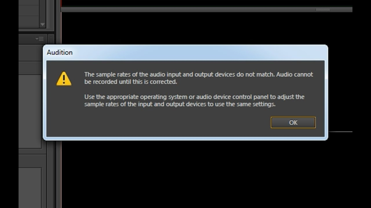 Ошибка при записи голоса в Adobe Audition [Решение] - YouTube