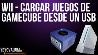 Wii - Cargar juegos de Gamecube desde un USB
